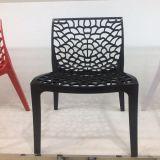 Silla al aire libre plástica de cena moderna de la silla del banquete de oro