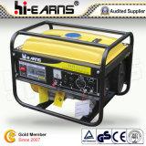 generatore portatile della benzina 2kw con colore giallo (GG2500)