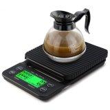 타이머 전자 디지털 부엌 가늠자를 가진 다기능 3kg/0.1g 드립 커피