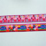 卸し売り絹によって印刷されるGrosgrainの顧客用リボン
