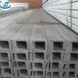 De warmgewalste Ingelegde U-balk van de Vorm van U van het Roestvrij staal 180X70