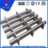 Pijpleiding van de van certificatie Ce de Magnetische Rooster/Hoppermagnet van het Roestvrij staal voor het Ijzererts van de Terugwinning