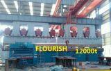 Bruch/verbiegende Stahlmaschine betätigen