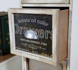 [إيوروبن-ستل] خشبيّة ساحبات قفص صدر [ستورج كبينت] خزانة أثاث لازم خشبيّة بيتيّة