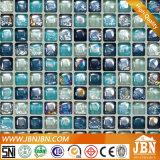 Het mediterrane Mozaïek van het Glas van de Bel van de Stijl voor de Muur van de Badkamers (L1425001)