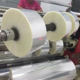制御する縦のタイプPLC PE PPのフィルムロールおよび絶縁材のための巻き戻す機械を切り開く