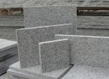 За пределами гранитные плитки пола проложить камня