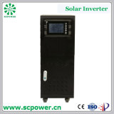 Uso Home no inversor híbrido amarrado grade da potência solar da grade