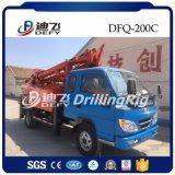 Dfq-200c sobre camión de la máquina de perforación de pozos de agua