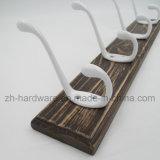 High-Grade hermosa ropa Gancho Gancho de tablero de metal y madera (ZH-7010)