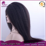 Parrucca piena crespa di Yaki/diritta dei capelli malesi Virgin del merletto