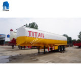 De Oplegger van de Tank van het aluminium 50000 van het Water Liter van de Aanhangwagen van de Tank