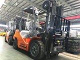 Materieller Diesel-LKW-Gabelstapler der Zufuhr-3500kgs