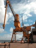 Korn-Sand-Düngemittel-Kleber-Kanal-Entlader-saugende Massenmaschine