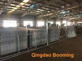 Construction en acier stable garde-barrière temporaire