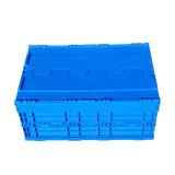 Uitstekende kwaliteit die Plastic Klein Krat met Deksel voor Verkoop vouwen