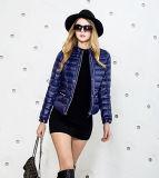 Короткое замыкание ODM фиолетовый высокого качества леди вниз зимой износа смажьте куртка с заводская цена