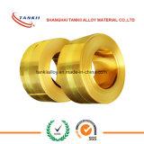 Bande de bronze d'alliage de cuivre de haute précision CuSn6/CuSn4/CuSn8