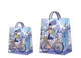 París Azul en Papel de regalo de cumpleaños bolsa actual
