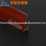 Profil en aluminium des graines en bois pour la porte intérieure