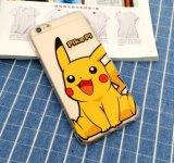 Pokemon de vente chaud vont qualité de dessin animé pour le cas du téléphone mobile TPU