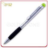 Рекламировать выдвиженческое пер шарика Click с резиновый ручкой
