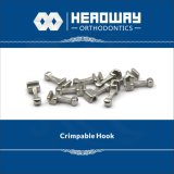 高品質の歯科矯正学のアクセサリの前進のセリウムが付いている中間のCrimpableのホック