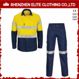Uniformes Mécanicien de construction Retardateur de flamme Hi Vis Safety Workwear