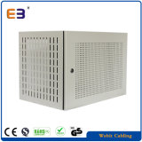 Perforated Grey Color Wall Mounting Network Cabinet