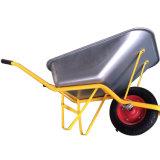 Wheelbarrows resistentes industriais baratos para o edifício
