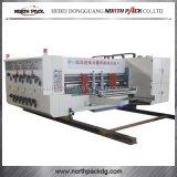 陶磁器のローラーの自動Flexoの印刷の細長い穴がつき、型抜き機械