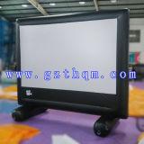 Riesige aufblasbare Film-Bildschirme für Bekanntmachen/Projektions-aufblasbaren Film-Bildschirm