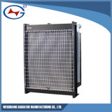 발전기 물 냉각 방열기를 위한 Wd129tad19-2 알루미늄 방열기