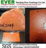 Vernice lucida del rivestimento della polvere del poliestere di struttura Ral2004 di rivestimento approssimativo arancione della grinza
