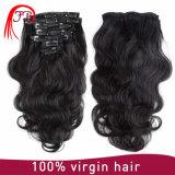 최신 판매 클립-온 머리 몽고 인체 파 머리 연장