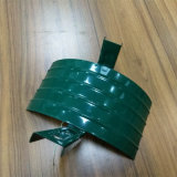 Titular de la manguera de jardín de metal verde percha