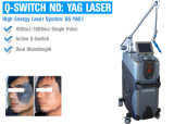 Remoção Q-Switched do tatuagem do laser do ND YAG
