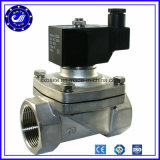 Тип клапан высокого качества 1 дюйма 100% испытанный двухсторонний соленоида нержавеющей стали
