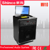 Shinco 10'' Teatro móvil inalámbrico Bluetooth portátil altavoces carro
