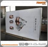 Коробка крытой рамки высокой яркости Free-Standing алюминиевой светлая