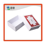 Impresión en color blanco y rojo Regalo/cosméticos promocionales/caja de papel