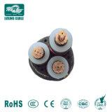 Cavo elettrico di rame elettrico del conduttore XLPE sistemi MV (tensione media)