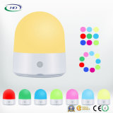 LEDの接触多色刷りライトUSBの機能再充電可能なランプ