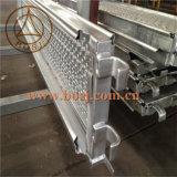 آليّة بحريّة فولاذ سقالة ألواح من مشية لوح لف يشكّل إنتاج آلة