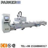 Perfil de aluminio pesado centro de la máquina de corte de perforación