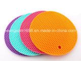 FDA van de Vorm van de honingraat PanMat van de Pot van de Mat van de Kop van het Silicone de Hete