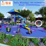 2018 High Quality and Wholesale Outdoor Playground Equipment with Trampoline