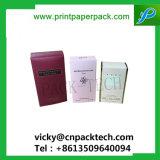 Пользовательская складывание косметической упаковки из картона духи бумаги в салоне Eyelash упаковки