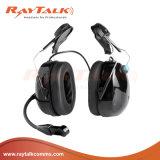 La doble Muff oreja los auriculares con reducción de ruido