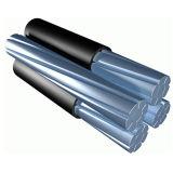 cavo di alluminio ambientale di ABC del cavo isolato XLPE del conduttore 0.6/1kv-33kv